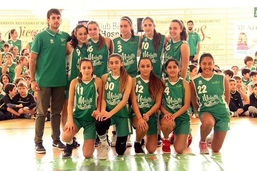 Basquet Centre Catolic LH, cadet a femeni 2017-2018