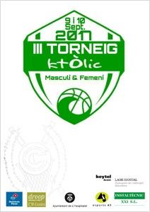 cartell 3er torneig centre catolic