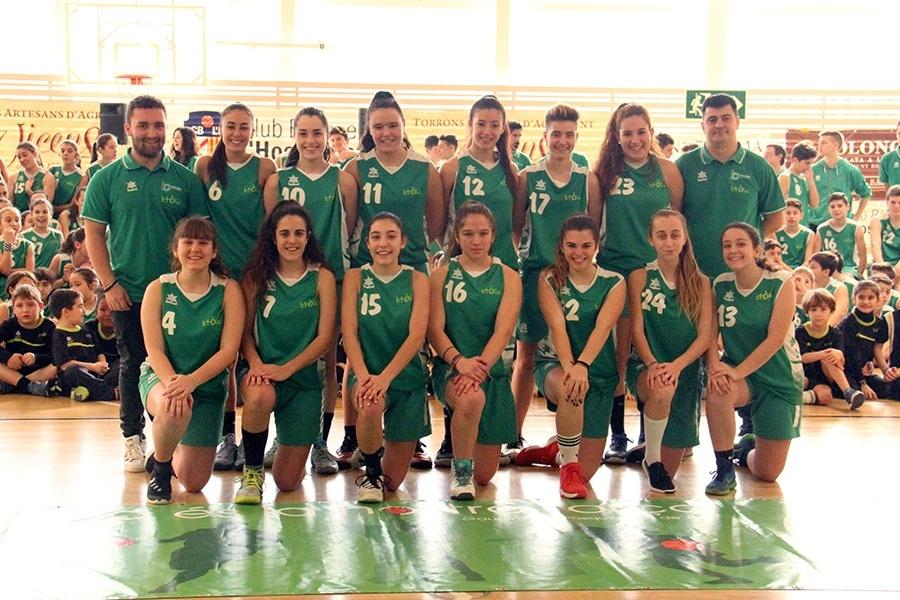 Basquet Centre Catolic LH, junior femeni 2017-2018