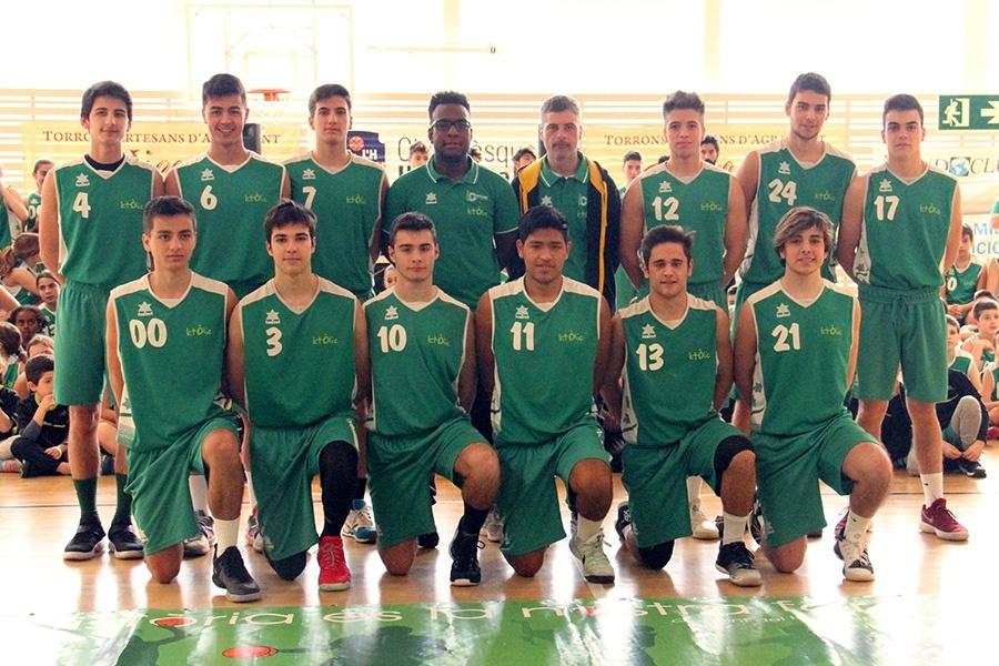 Basquet Centre Catolic LH, junior masculi 2017-2018