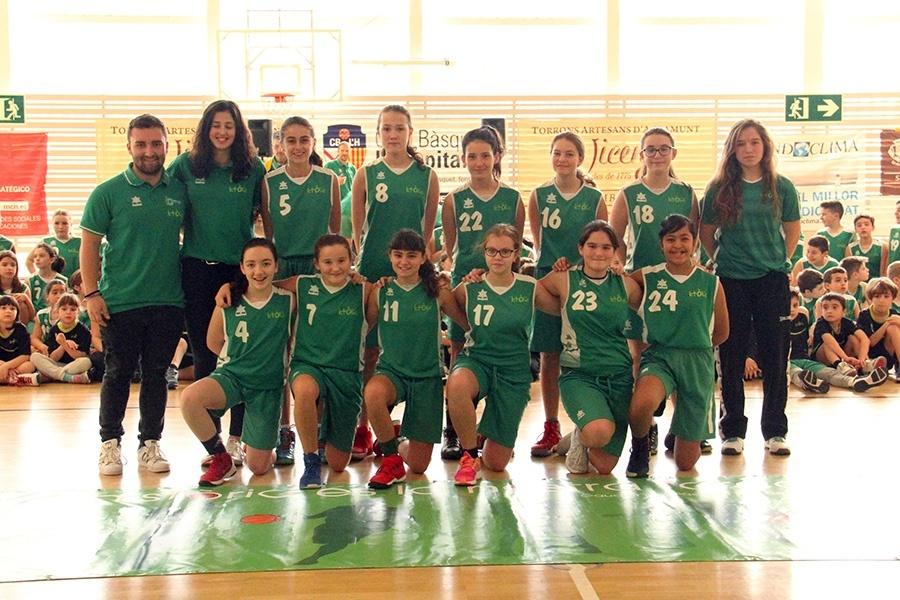 Basquet Centre Catolic LH, pre-infantil femeni 2017-2018