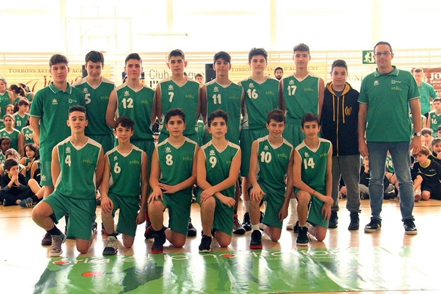 Basquet Centre Catolic LH, cadet masculi 2017-2018
