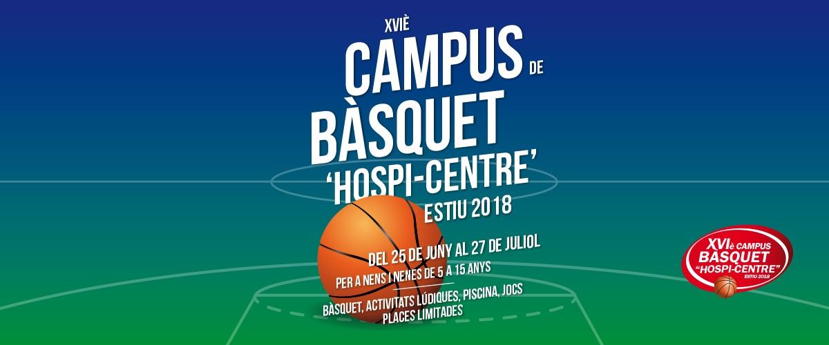 campus de basquet 'Hospi-Centre' Estiu 2018