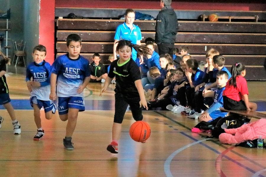 1a trobada d'escoles de bàsquet de L'Hospitalet 2018-2019