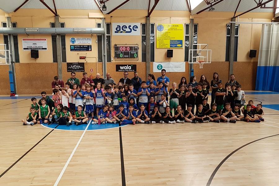 5a trobada d'escoles de bàsquet de L'Hospitalet