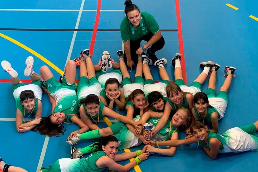 Premini B Femení, Campió del Consell Escolar de Barcelona