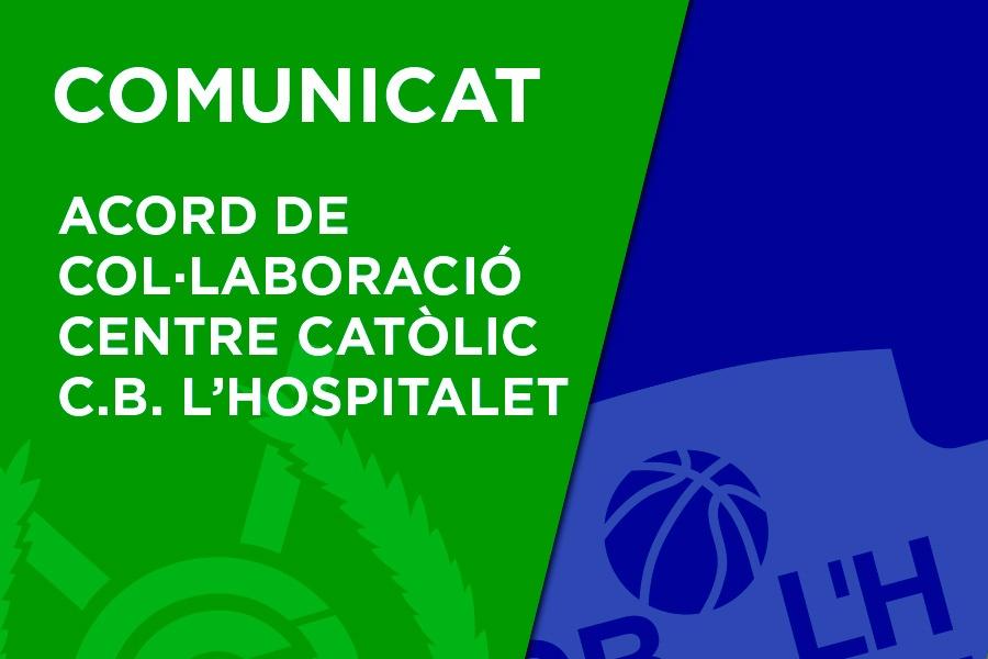 Acord de Col·laboració Centre Catòlic - CB L'Hospitalet