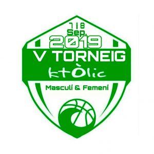 logo 5e torneig Basquet Centre Catolic